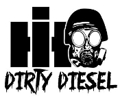 International Dirty Diesel Decal Sticker
