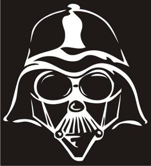 Darth Vader v5 Decal Sticker
