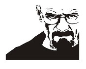 Walter White v2 Decal Sticker