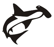 Hammerhead Shark v3 Decal Sticker