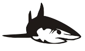 Shark v15 Decal Sticker