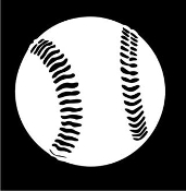 Baseball v2 Decal Sticker