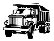 Dump Truck v2 Decal Sticker