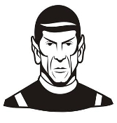 Mr Spock Decal Sticker