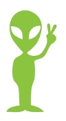 Alien v13 Decal Sticker