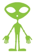 Alien v15 Decal Sticker