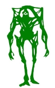 Alien Creature v1 Decal Sticker