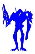 Alien Creature v4 Decal Sticker