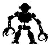 Robot v1 Decal Sticker