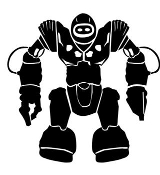 Robot v3 Decal Sticker