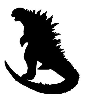 Godzilla v2 Decal Sticker