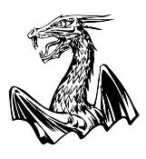 Dragon v50 Decal Sticker