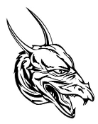 Dragon Head v6 Decal Sticker