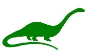Dinosaur Silhouette 12 Decal Sticker