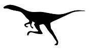 Dinosaur Silhouette 6 Decal Sticker