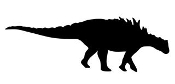 Dinosaur Silhouette 4 Decal Sticker