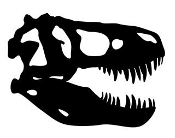 Dinosaur Skull 1 Decal Sticker