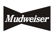 Mudweiser v2 Decal Sticker