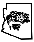 Arizona Bass Fishing Decal Sticker