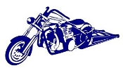 Drag Bike v2 Decal Sticker