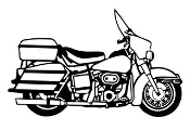 Motorcycle v5 Decal Sticker