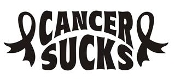 Cancer Sucks Decal Sticker