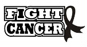 Fight Cancer Decal Sticker