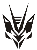 Transtech - Decepticon Decal Sticker