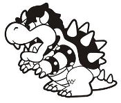 Bowser Decal Sticker