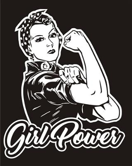 Girl Power v3 Decal Sticker