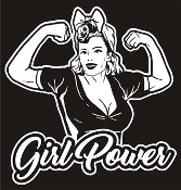 Girl Power v5 Decal Sticker