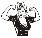 Rosie the Riveter v2 Decal Sticker
