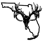 Florida Deer Skull Decal Sticker