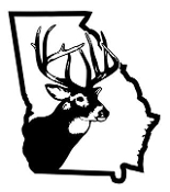Georgia Deer Hunting Decal Sticker