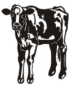 Calf v3 Decal Sticker