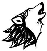 Wolf Head v7 Decal Sticker