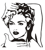 Madonna Decal Sticker