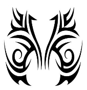 Tribal Design v50 Decal Sticker