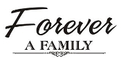 Forever A Family Decal