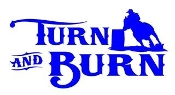 Turn and Burn Decal Sticker
