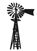 Windmill Decal Sticker