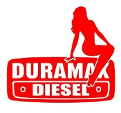 Duramax Girl v7 Right Decal Sticker