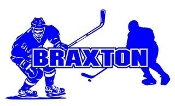 Personalized Hockey Player Name v2 Decal Sticker