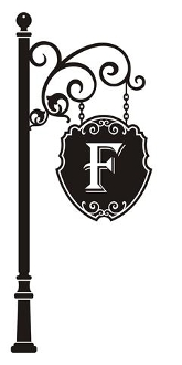 Family Monogram Sign v1 Decal