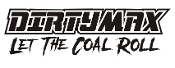 Dirtymax Let the Coal Roll Decal Sticker