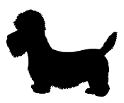 Bichon Frise Silhouette Decal Sticker