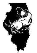 Illinois Catfish Decal Sticker