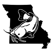 Missouri Catfish Decal Sticker