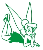 Tinkerbell v17 Decal Sticker