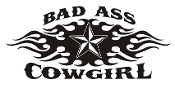 Bad Ass Cowgirl v5 Decal Sticker